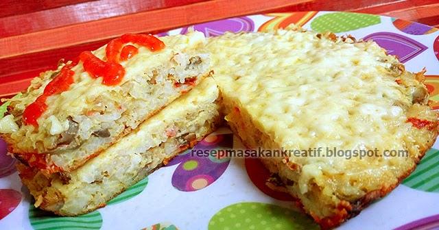Resep Omelet Nasi Keju Jamur Kancing - Aneka Resep Masakan Sederhana ...