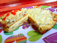Resep Omelet Nasi Keju Jamur Kancing