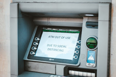 ATM Closed for Coronavirus Recession - Source: Hello I'm Nik via Unsplash - https://unsplash.com/photos/QtTKfb23nBc