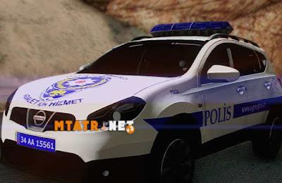 Nissan Qasqai Polis