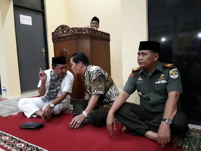 Danramil 03/Sukmajaya Taraweh Bersama Napi di Rutan Cilodong