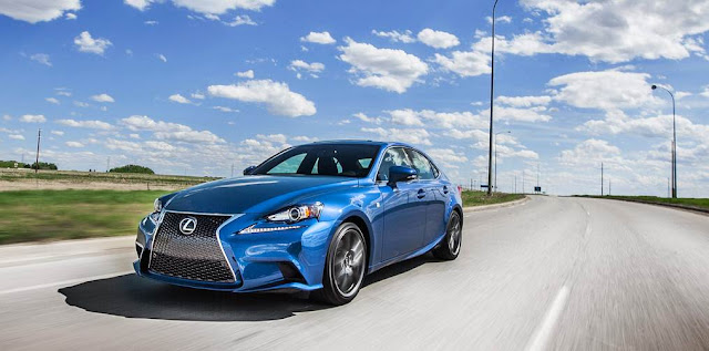 2016 Lexus IS350 F Sport Changes