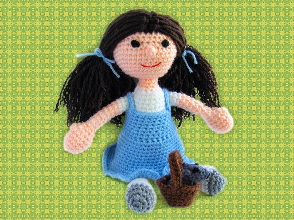 Amigurumi Doll Zühre Free Crochet Pattern - Amigurumi Free Patterns | 750x1000
