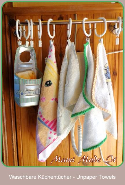 Waschbare Küchentücher - Unpaper Towels