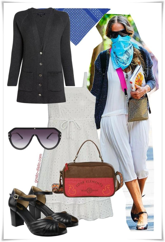 Sarah Jessica Parker - moda para mulheres maduras
