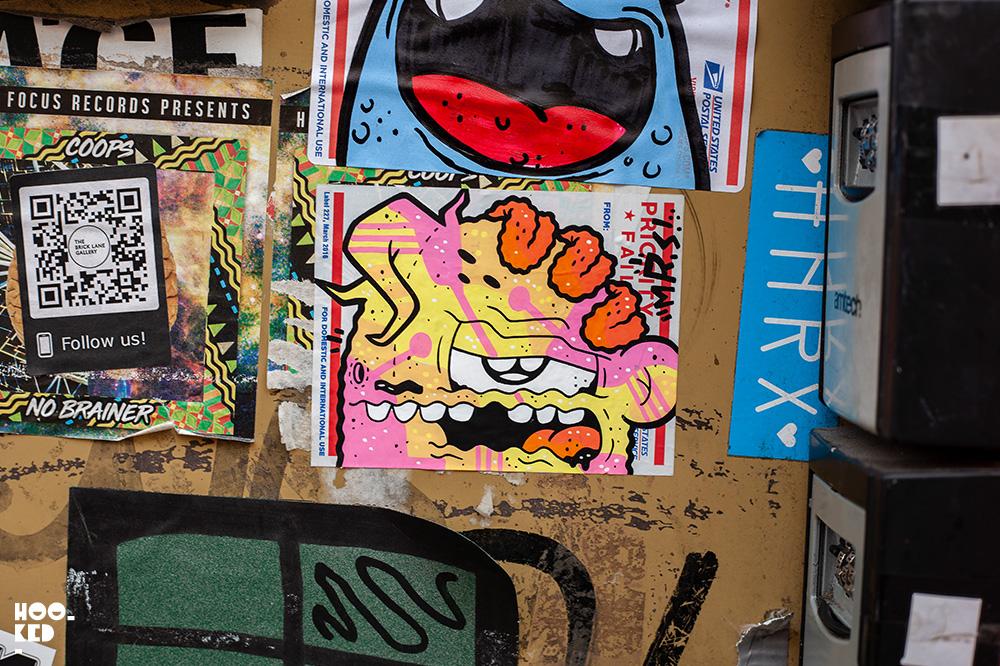 Shoreditch Street Art Stickers