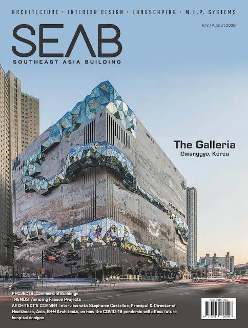 Bìa  tạp chí Southeast Asia Buildiing số tháng 07-2020