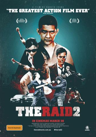 The Raid 2 2014 UNRATED Dual Audio ORG Hindi 480p BluRay x264 450MB ESubs