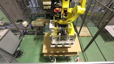 Cómo estudiar robotica y aprender a construir un Robot paletizador de cajas