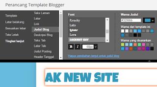 Sesuaikan Gaya Tulisan Blog
