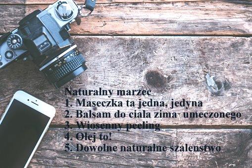 Naturalny marzec - nowa zabawa i maseczka ta jedna, jedyna :)