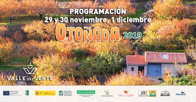 Este finde en el Valle del Jerte (29 de noviembre a 1 de diciembre 2019)