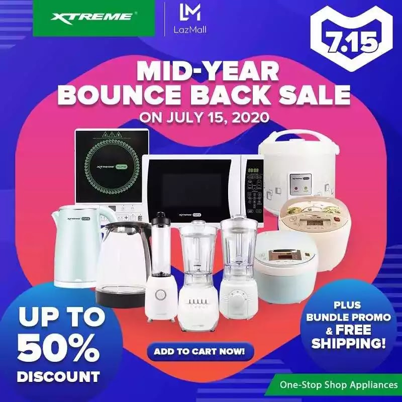 Mid-Year Bounce Back Sale