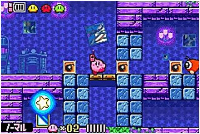 Kirby & the Amazing Mirror Game Boy Advance