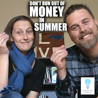 Today, we're going to talk about how to survive those summer months without a teaching paycheck.
