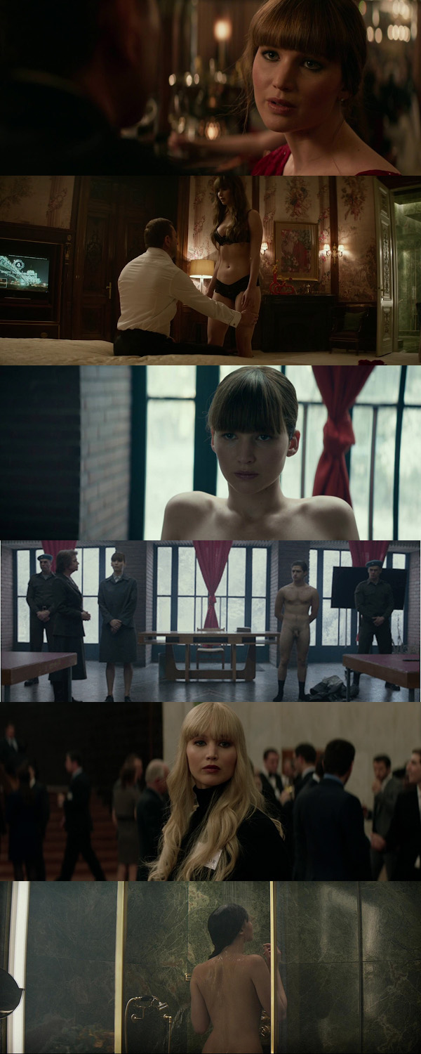 Red Sparrow 2018 Dual Audio