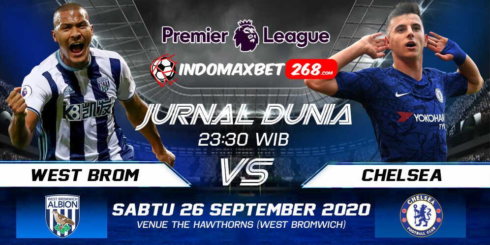 Prediksi West Bromwich Albion vs Chelsea 26 September 2020 Pukul 23:30 WIB
