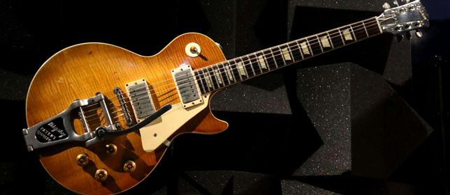 Guitarra Keith Richards Gibson Les Paul