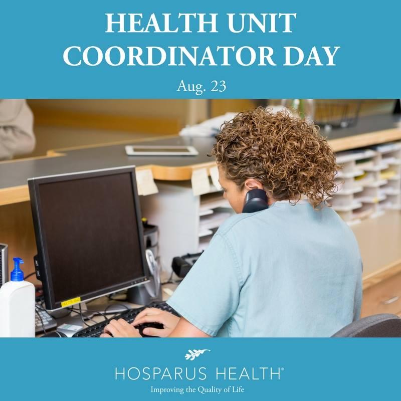 Health Unit Coordinators Day