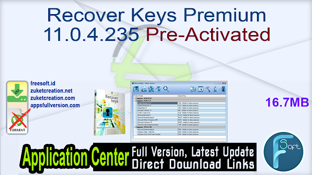 Recover Keys Premium 11.0.4.235 Pre-Activated