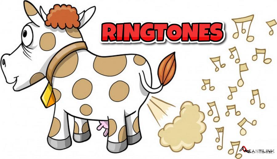 ringtone, suoneria, mucca, scoreggia, suonerie per cellulari