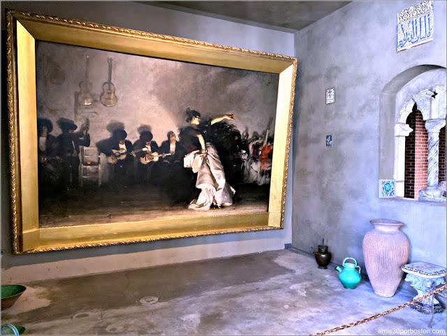 """""""El Jaleo"""" de John Singer Sargent en el Museo Isabella Stewart Gardner"""