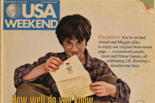 USA Weekend cover (2001)