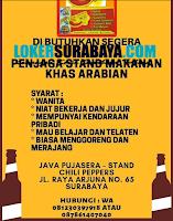 Info Lowongan Kerja di Java Pujasera - Stand Chili Pappers Surabaya Nopember 2019