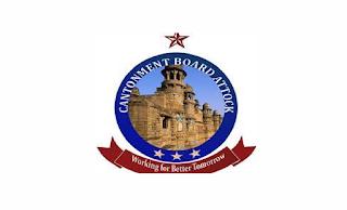 www.cbattock.gov.pk Jobs 2021 - Cantonment Board Attock Jobs 2021 in Pakistan