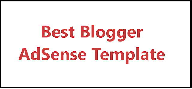 Blogger AdSense Approval Templets