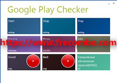 Google Play Checker With Capture