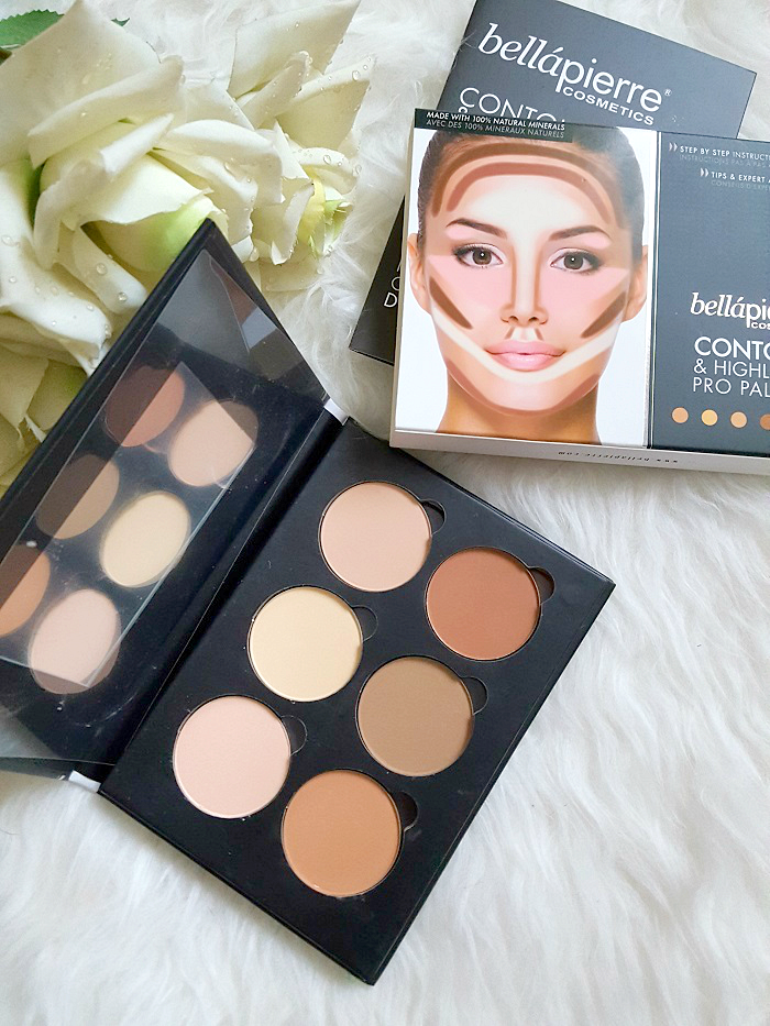 bellàpierre cosmetics - Contour & Highlight Pro Palette - Review 1