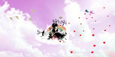 Cartoon Wallpaper,การ์ตูนสาวน้อย แสนสวย น่ารัก ชุดที่5-1