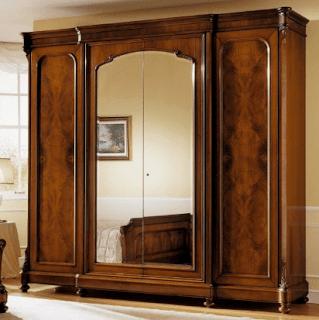 Gambar lemari kayu jati minimalis