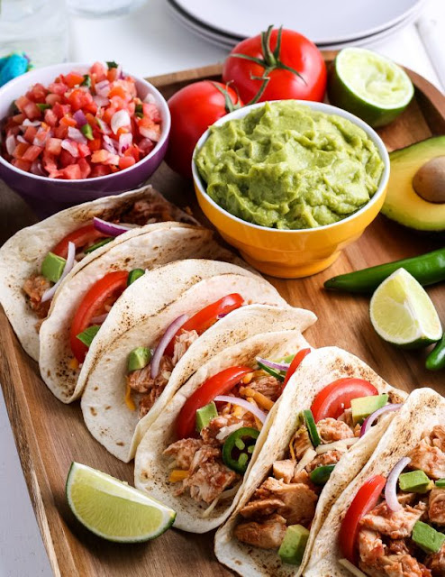 Ninja Foodie Crock Pot Chicken Tacos Recipe