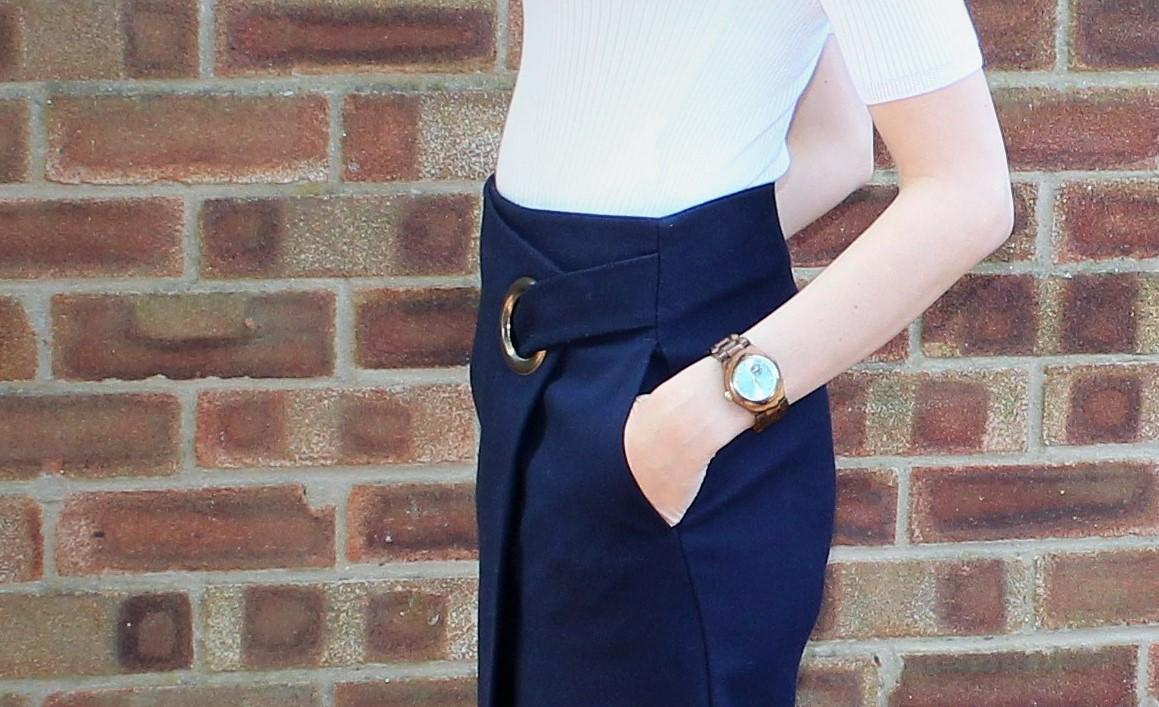 The Wrap Midi 4 - OOTD featuring Topshop skirt and River Island shoes