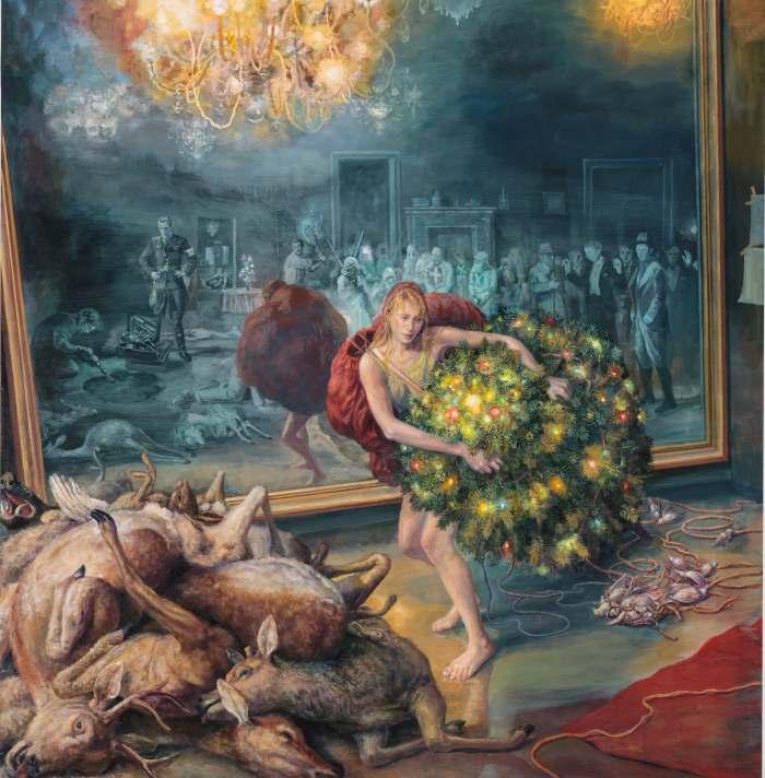 Медленно разваливающийся мир. Julie Heffernan