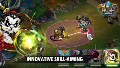Screenshot: Magic Rush: Heroes for Android