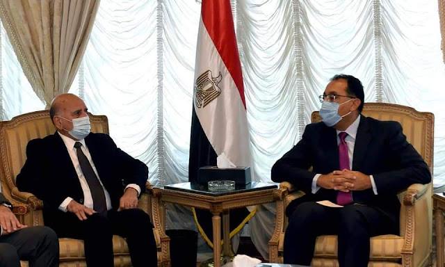 رئيس الوزراء يلتقي وزير خارجية العراق