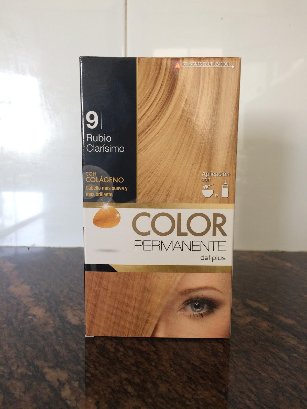 El cuaderno de lou color permanente deliplus 9 - Bano de color mercadona ...