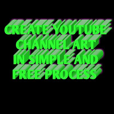 make youtube channel art