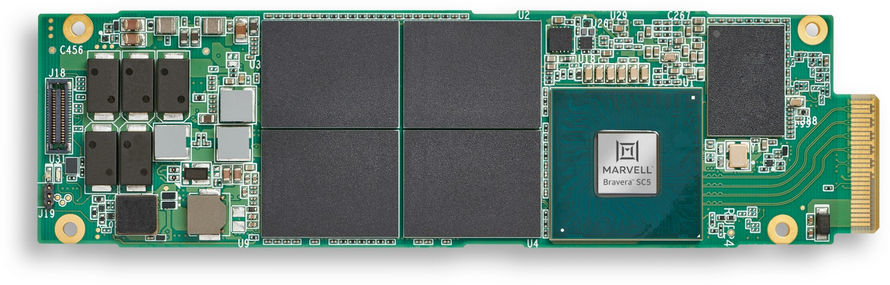 Marvell Bravera SC5 SSD PCI Express 5.0 Denetleyici