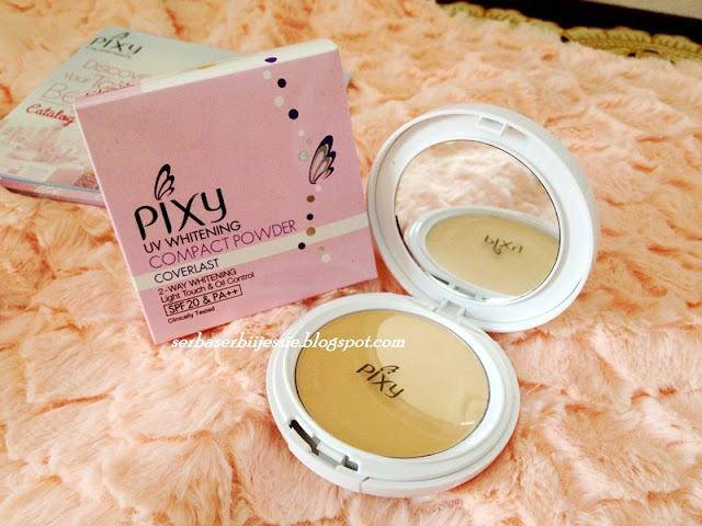 PIXY UV Whitening Compact Powder Coverlast
