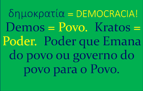 A democracia é o governo do povo
