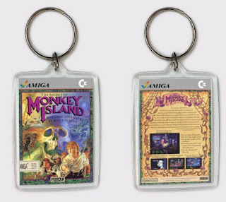 Llavero Monkey Island - Commodore Amiga