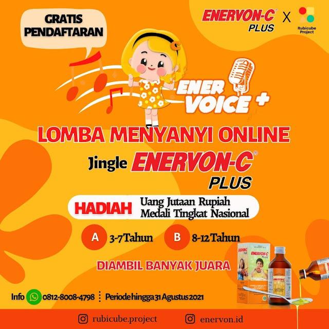 Lomba Menyanyi Online Jingle Enervon-C Berhadiah Jutaan Rupiah
