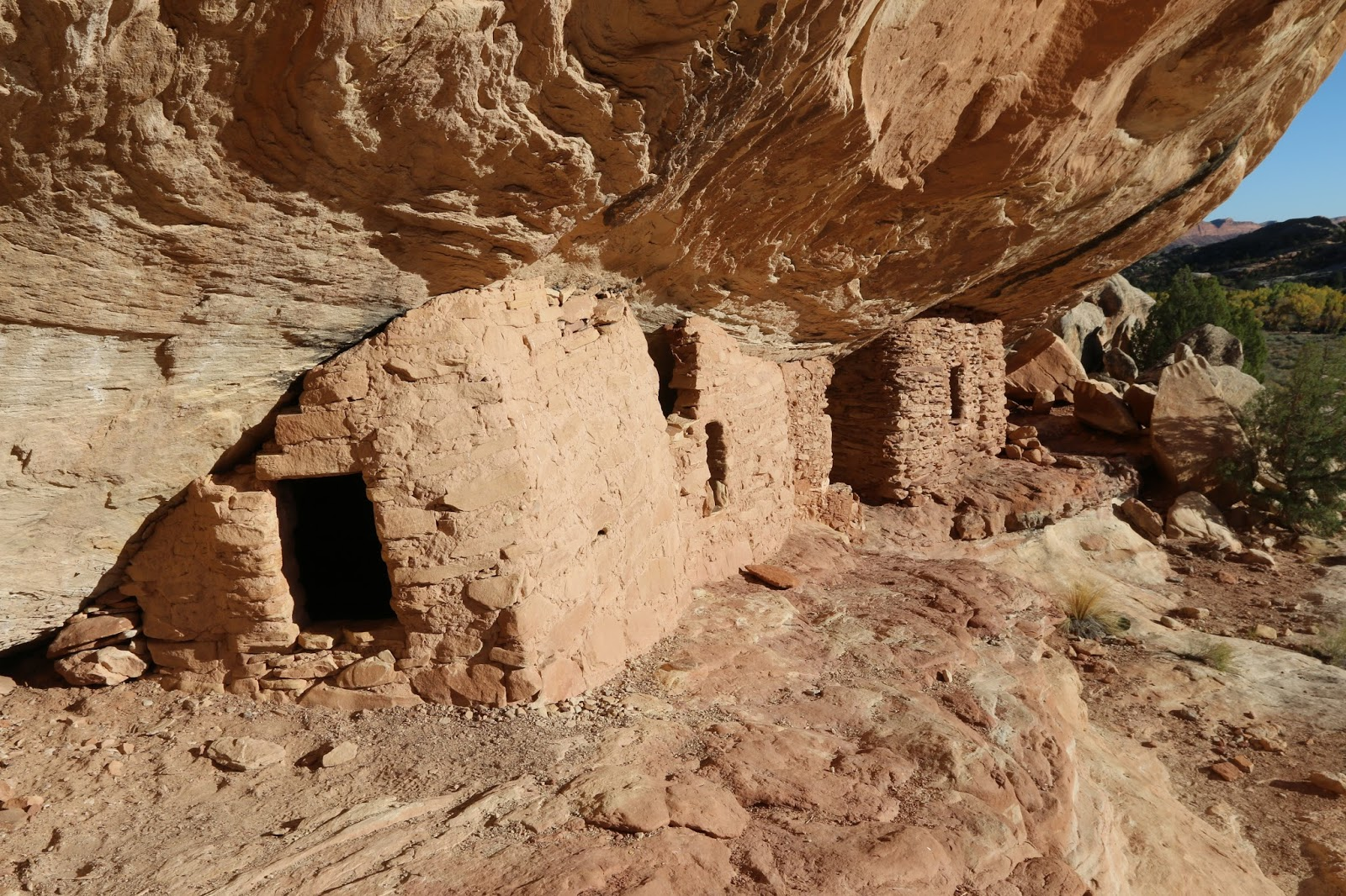 Plan A Road Trip >> gjhikes.com: Lower Mule Canyon Ruins