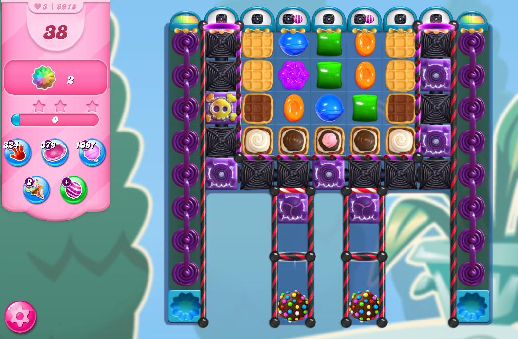 Candy Crush Saga level 8918