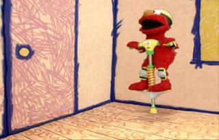 Sesame Street Elmo's World Jumping Interview