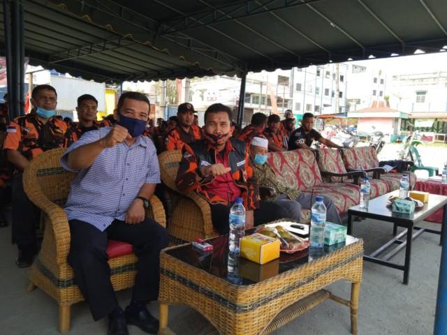 Camat Kota Kisaran Barat Menghadiri Pelantikan PAC PP Kelurahan Sendang Sari